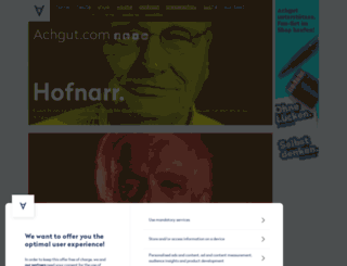 achgut.com screenshot