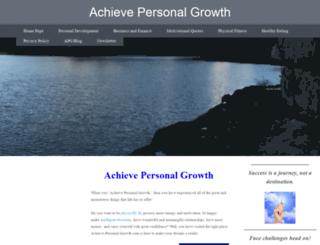 achieve-personal-growth.com screenshot