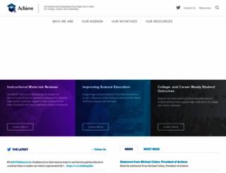 achieve.org screenshot