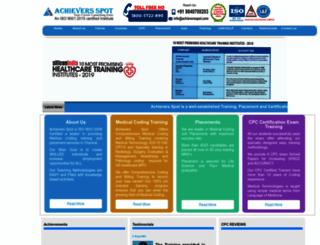 achieversspot.com screenshot