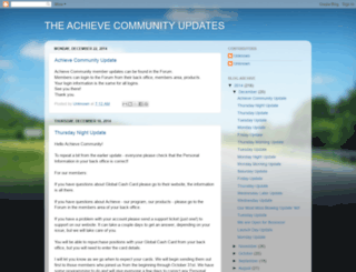 achieveupdates.blogspot.co.uk screenshot