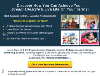 achieveyourdreamlife.com screenshot