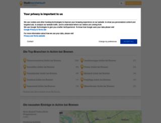 achim-bei-bremen.stadtbranchenbuch.com screenshot