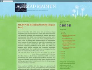 achmadmaimun.blogspot.com screenshot