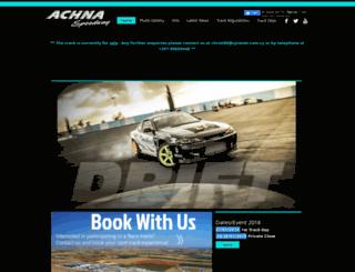 achnaspeedway.com screenshot