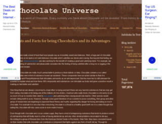 achocolateuniverse.blogspot.ro screenshot