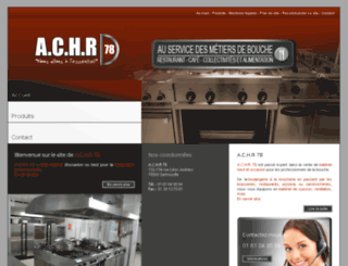 achr78-materielrestauration.com screenshot