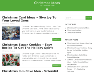 achristmasideas.com screenshot