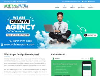 achtanaputra.com screenshot