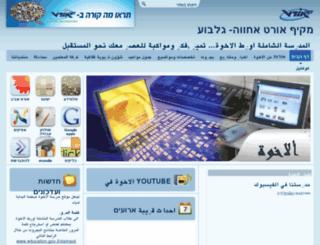 achva.ort.org.il screenshot