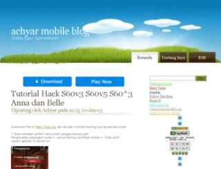 achyar.mywapblog.com screenshot