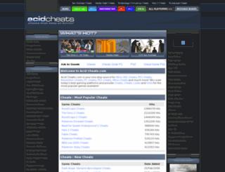 acidcheats.com screenshot