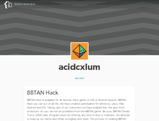 acidcxlum.tumblr.com screenshot