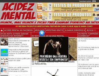 acidezmental.xpg.uol.com.br screenshot