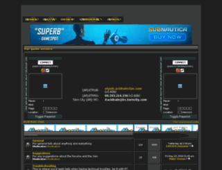 acidrainclan.all-forum.net screenshot