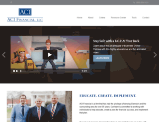 acifinancial.net screenshot