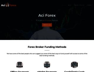 aciforex.org screenshot