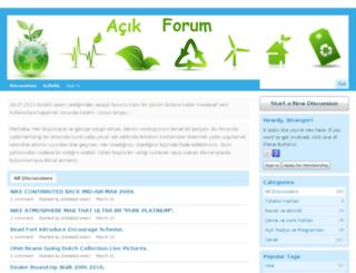 acikforum.org screenshot