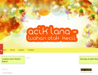aciklananovel.blogspot.com screenshot