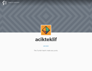 acikteklif.tumblr.com screenshot