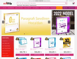 acilkitap.com screenshot