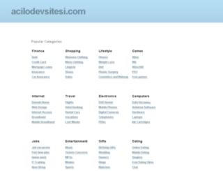 acilodevsitesi.com screenshot