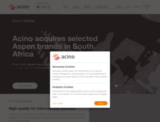 acino-pharma.com screenshot