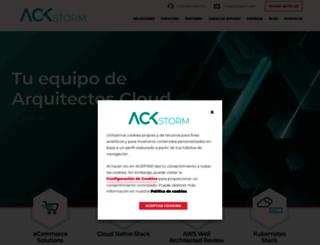 ackstorm.es screenshot