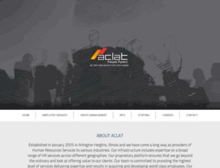 aclatindia.com screenshot