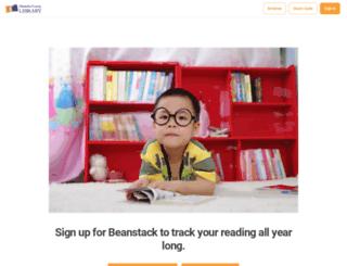 aclibrary.beanstack.org screenshot