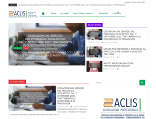 aclis.it screenshot