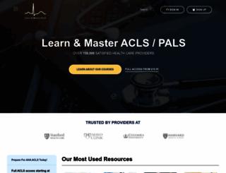acls-algorithms.com screenshot