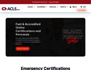 aclscertification.com screenshot