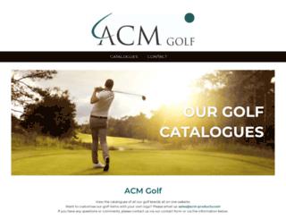 acm-golf.nl screenshot