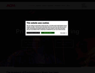 acm.ac.uk screenshot