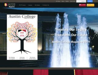 acmagazine.austincollege.edu screenshot