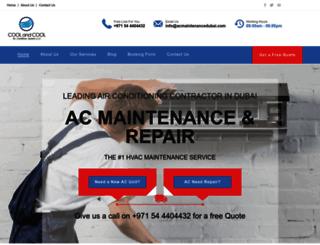 acmaintenancedubai.com screenshot