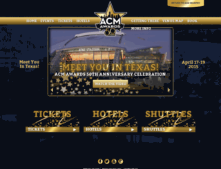 acmawards50.com screenshot