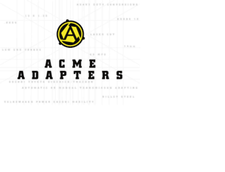 acmeadapters.com screenshot