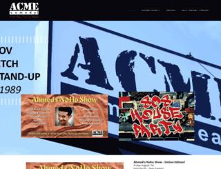 acmecomedy.com screenshot