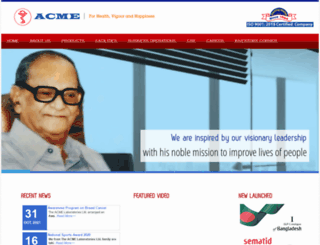 acmeglobal.com screenshot