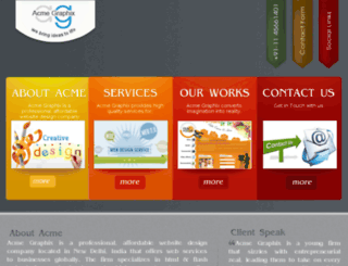 acmegraphix.net screenshot