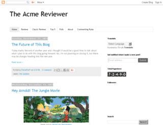 acmereviewer.blogspot.com screenshot