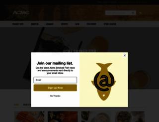 acmesmokedfish.com screenshot