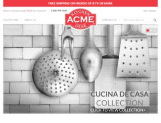 acmeusa.com screenshot
