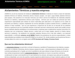 acmi.com.mx screenshot