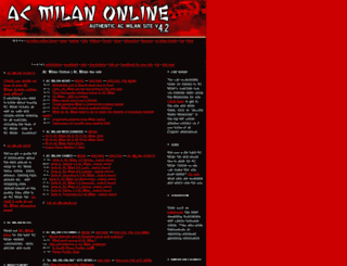 acmilan-online.com screenshot