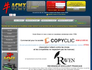 acmx.fr screenshot