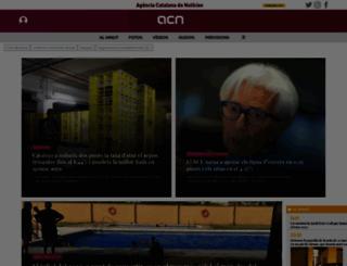 acn.cat screenshot
