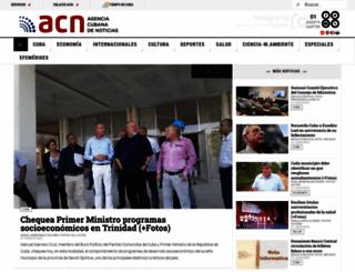 acn.cu screenshot